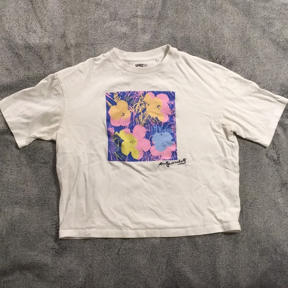 37241d6a0c7c92 Uniqlo Tops - Andy Warhol T-shirt
